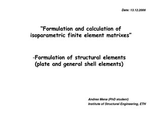 Plate and general shell elementPlate and general shell element ... PDF document - DocSlides