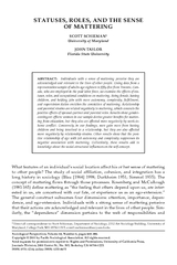 Sociological Perspectives, Volume 44, Number 4, pages 469