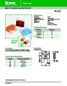 BLADE FUSE RATED 32V PowerPoint PPT Presentation