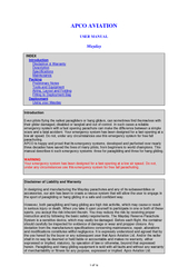 USER MANUALMaydayINDEX     Introduction PDF document - DocSlides