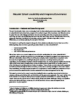 Leadership and Integrated Governance PDF document - DocSlides