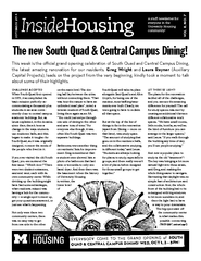 The new South Quad & Central Campus Dining! PDF document - DocSlides