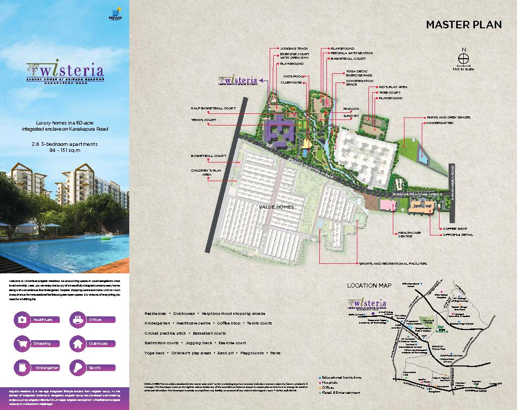 Welcome to Wisteria at Brigade Meadows, luxurious living spaces in Sou PDF document - DocSlides