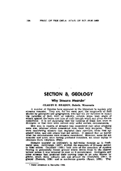 104PROC.OFTHEOKLA.ACAD.OFSCI.FOR1960SECTIONB,GEOLOGYWhyStreamsMeander! PDF document - DocSlides