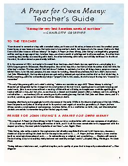 TO THE TEACHER PDF document - DocSlides