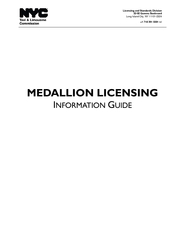 Medallion Licensing Information Guide