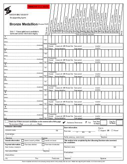 Side 1:  Please print each candidate