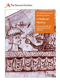 A Medieval Mystery Can you decode the dark secrets of this cartoon?  T PDF document - DocSlides