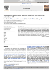Investigationofmelodiccontourprocessinginthebrainusingmultivariatepatt PDF document - DocSlides