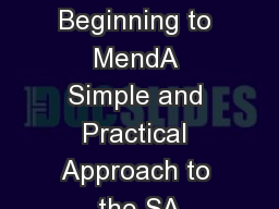 Macros from Beginning to MendA Simple and Practical Approach to the SA PDF document - DocSlides