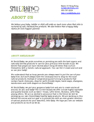 Natural Baby Store PDF document - DocSlides
