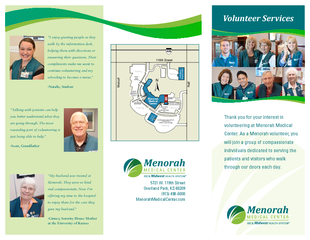 Volunteers Make a Difference at Menorah Medical Center PDF document - DocSlides