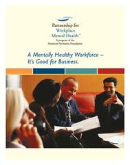 A Mentally HealthyWorkforce  PDF document - DocSlides