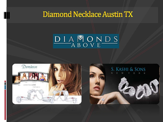 Diamond Necklace Austin TX