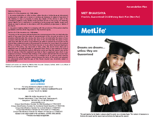 Products and services are offered by MetLife India Insurance Company L
