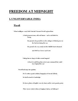 FREEDOM AT MIDNIGHT PDF document - DocSlides