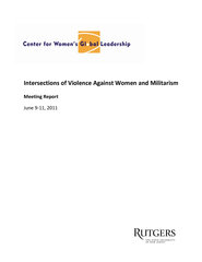 Intersections of Violence Against Women and Militarism