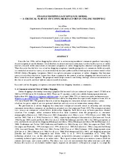 Journal of Electronic Commerce Research VOL  NO