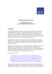 AIR TRANSPORT USERS COUNCIL