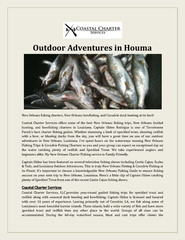 Outdoor Adventures in Houma