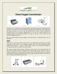 Home Oxygen Concentrator PowerPoint PPT Presentation