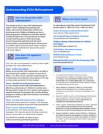 Fact Sheet  How does child maltreatment aect health Child maltreatment includes all types of abuse and neglect of a child under the age of  by a parent caregiver or another person in a custodial role