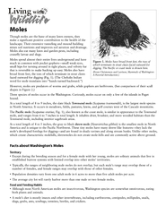 Molesmixes soil nutrients and improves soil aeration and drainage. tha