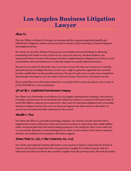 Los Angeles Business Litigation Lawyer PowerPoint PPT Presentation