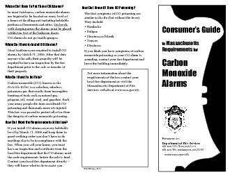 Where Do I Have To Put These CO Alarms? PowerPoint PPT Presentation