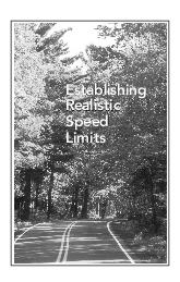 Establishing Realistic Speed Limits Establishing Realistic Speed Limits Establishing Realistic Speed Limits his publication updates the Setting Realistic Speed Limits booklet which was originally prod