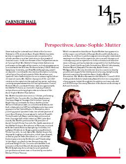 Wednesday, October 1 at 7 PM | Stern/PerelmanCarnegie Hall's Open