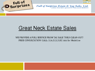 Great Neck Estate Sales