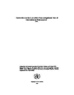 Convention on the Law of the Non