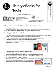 Library eBooks for