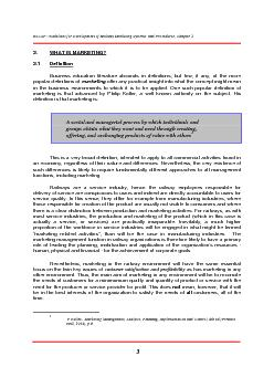 ESCAP: Guidelines for Development of Railway Marketing Systems  and Pr