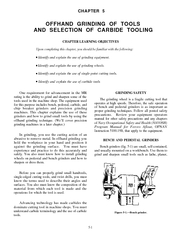 OFFHAND GRINDING OF TOOLSAND SELECTION OF CARBIDE TOOLING PowerPoint PPT Presentation