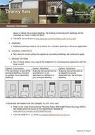 General information August   Page The NSW Government supports the development of secondary dwellingsgranny flats through the State Environmental Planning Policy Affordable Rental Housing  r AHSEPP Gra PowerPoint PPT Presentation