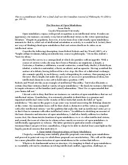 1This is a penultimate draft. For a final draft see the Canadian Journ PowerPoint PPT Presentation