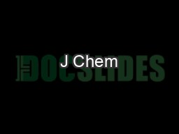 J Chem PDF document - DocSlides