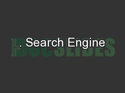 . Search Engine