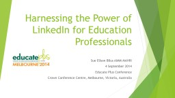 Harnessing the Power of LinkedIn for Education Professional