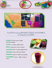 Organic Juice Hollywood PowerPoint PPT Presentation