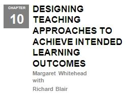 DESIGNING TEACHING APPROACHES TO ACHIEVE INTENDED LEARNING