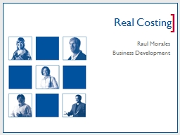 Real Costing PowerPoint PPT Presentation