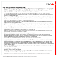 Issued by The Hongkong and Shanghai Banking Corporation Limited India HSBC