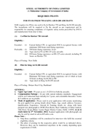 STEEL AUTHORITY OF INDIA LIMITED A Maharatna Company of Government of India REQUIRES ILOTS FOR ITS HAWKER   KING AIR B  AIRCRAFTS SAIL requires two Pilots one each to fly its Hawker  and King Air B  a