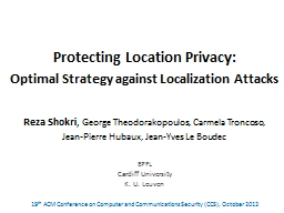 Protecting Location Privacy