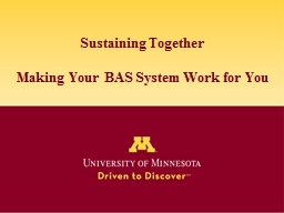 Sustaining Together PowerPoint PPT Presentation