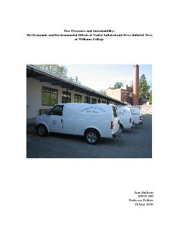 Tire Pressures and Sustainability: PowerPoint PPT Presentation