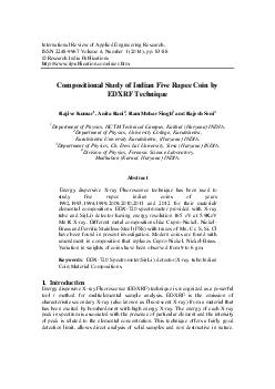 International Review of Applied Engineering Research ISSN   Volume  Number     pp